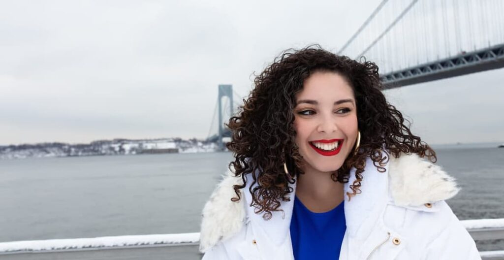 A photo of Brittany Ramos DeBarros, courtesy of her campaign.