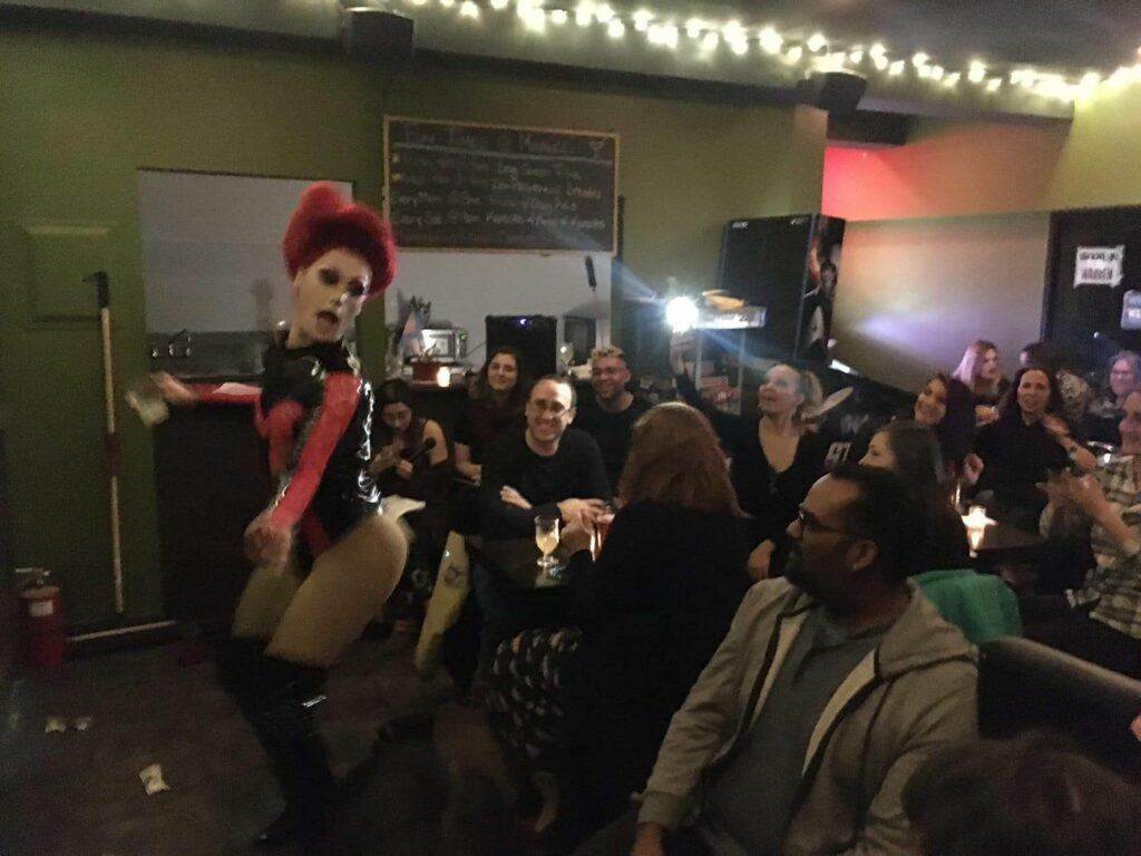 A photo of South Brooklyn for Warren's Drag Night at Minnie's Bar