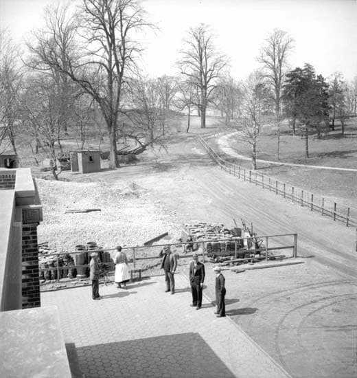 View from the top of the new Owl's Head Park Comfort Station, 1935