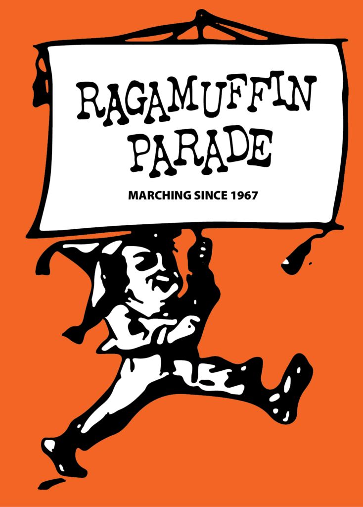 Banner for the Bay Ridge Ragamuffin Parade